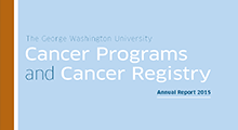 2015 Cancer Programs and Cancer Registry Annual Report Cover