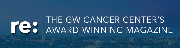 The GW Cancer Center's Award-Winning Magazine