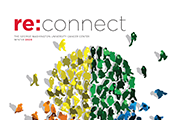 re:connect magazine cover