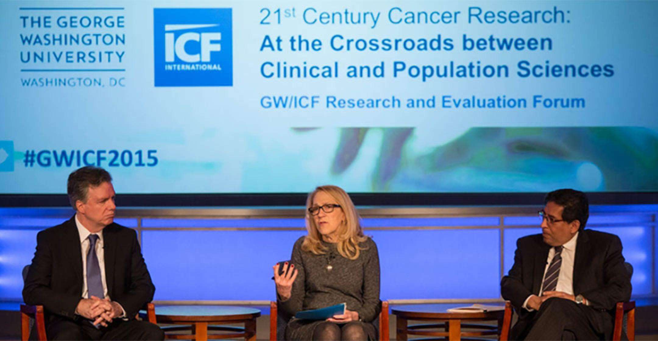Photo of ICF 21st Century Cancer Research: At the Crossroads Between Clinical Population Sciences Panel