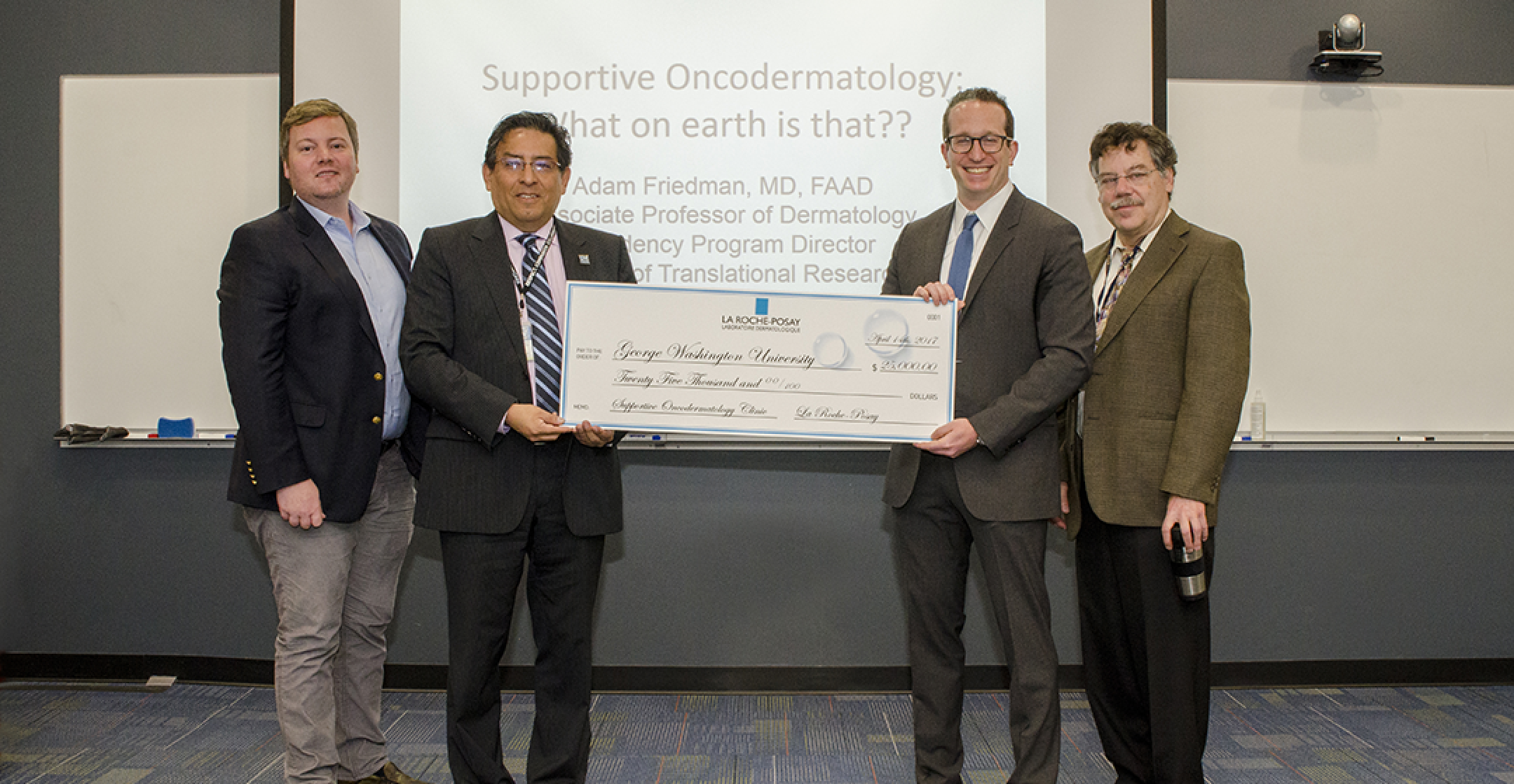 GW Cancer Center opened the Supportive Oncodermatology Clinic
