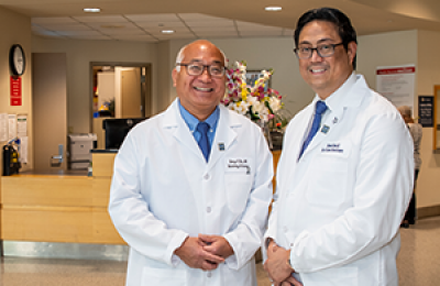 George Kim, MD and Vincent Obias, MD