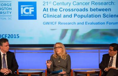 Thumbnail photo of ICF 21st Century Cancer Research: At the Crossroads Between Clinical Population Sciences Panel