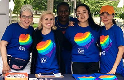 GW Cancer Center at Pride 2019